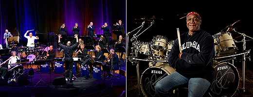 Drum World mit: WDR Big Band feat. Mokhtar Samba und Billy Cobham & Band
